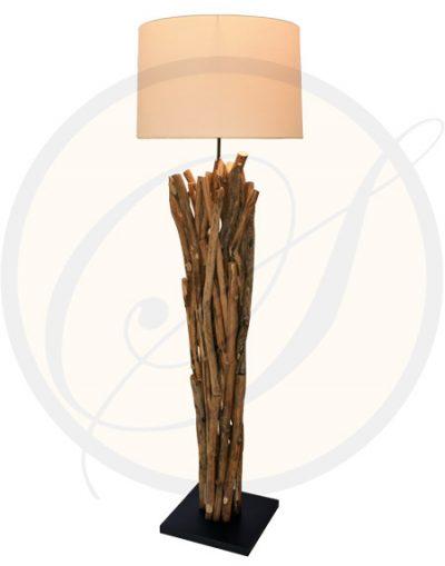 Bangkok driftwood floor lamp Suna Living