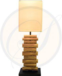 driftwood table lamp Rayong Suna Living