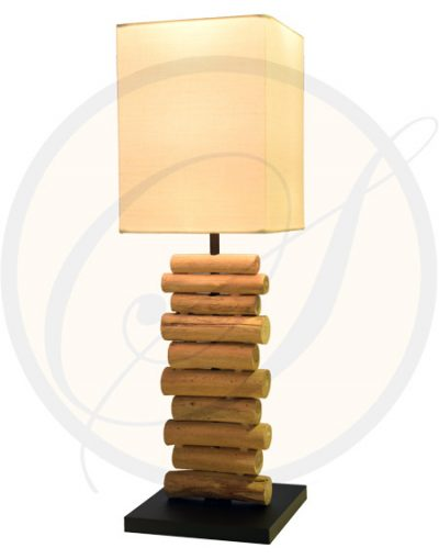 driftwood table lamp Rayong Suna Living