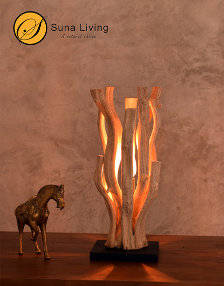 Lianas Vines table lamp Pattaya by Suna Living