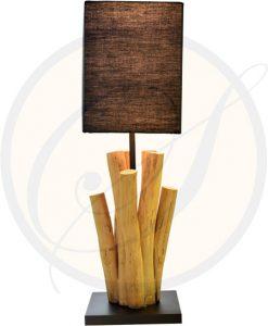 Driftwood table lamp Lampang Suna Living