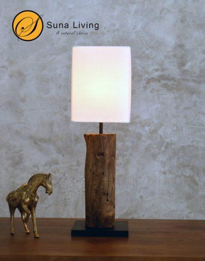 driftwood table lamp Nan Suna Living