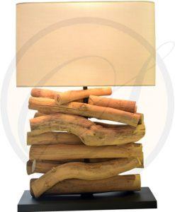 driftwood table lamp Lamphun by Suna Living